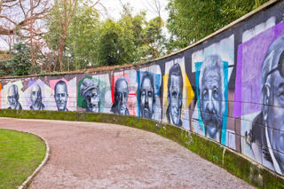 Opatija Wall of fame in The Angiolina Park