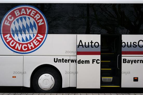 Team bus Bayern Munich