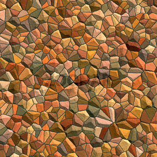 Abstract generated stone surface for background and design