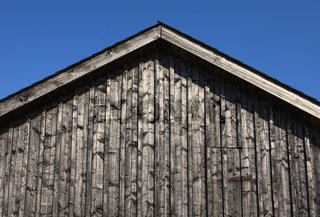 Wooden house, detail