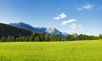 Wilder Kaiser mountains in Tirol