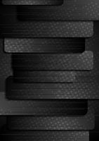 Abstract black grunge striped background