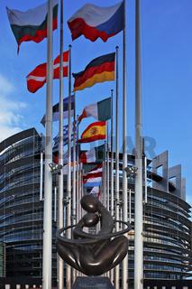 Strasbourg Europaeisches Parlament, European Parliament