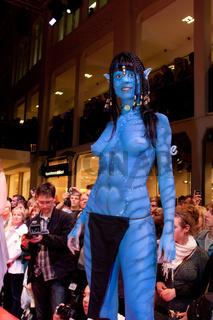 Body Painting von Enrico Lein, Weltmeister im Bodypainting