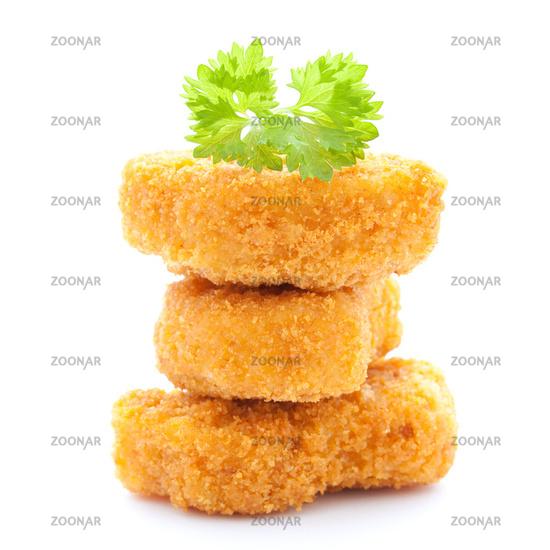 raw chicken nuggets