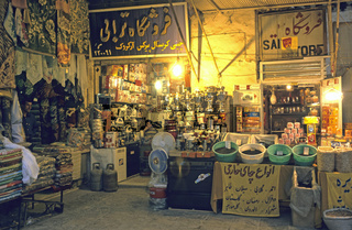 Basar in Kashan, Iran