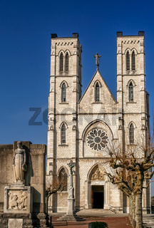 Gothic cathedral in France