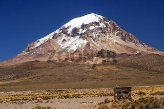 Nevado Sajama volcano