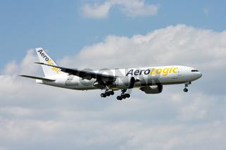 AeroLogic Boeing 777F (D-AALA)