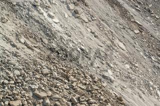 stony slope scenery