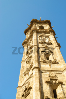 Tower of the Church of Santa Catalina in Valencia, Spain