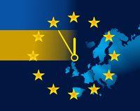 EU and flag of Ukraine - five minutes to twelve.jpg