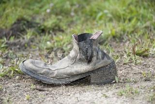 vergessener Schuh