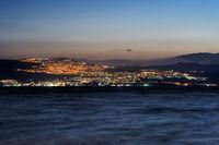 Tiberias city lights
