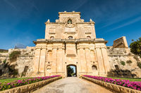 The Notre Dame Gate, Malta architecture