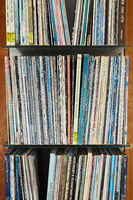 Records on the shelf