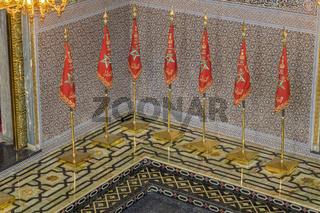 Inside The Mausoleum of Mohammed V Rabat Morocco