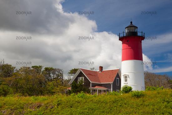 Nauset Light Lighthouse in Eastham, USA