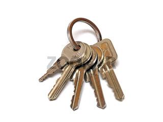 ein Schlüsselbund / a bunch of keys