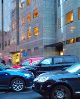 Urban car parking
