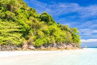 Tropical white sand beach