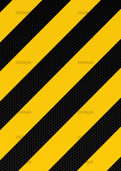 traditional warning stripe