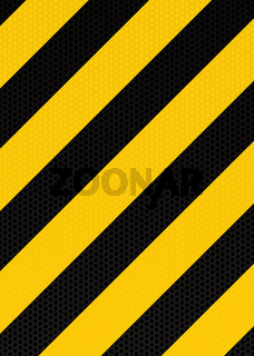 traditional warning stripe