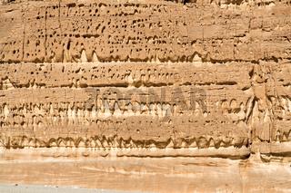 Weathered rock formations, Sinai Peninsula, Egypt