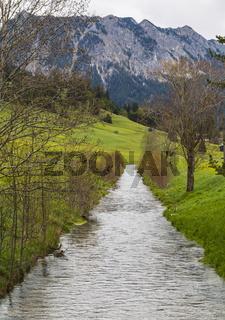 Berger Ache bei Tannheim, Tirol, Oesterreich,