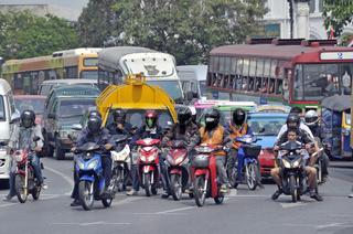 Verkehr in Bangkok