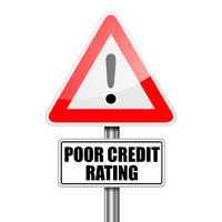 Poor Credit Rating