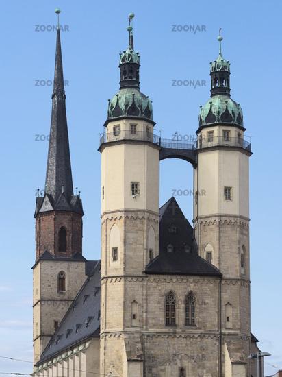 Halle - Marktkirche Unser Lieben Frauen (Market Church of Our Dear Lady), Germany