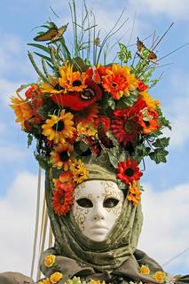 Maske Blumenwiese 1