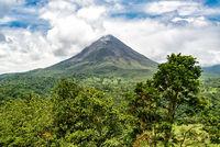 Volcano Arenal in Costa Rica