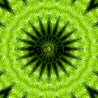 Mandala - Grüne Hoffnung 03