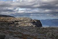 above Lysefjord