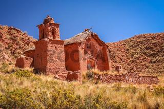 Small church in Bolivia