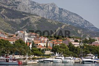 Hafen am Mittelmeer