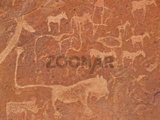 Rock engravings