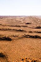 aerial view of the dunes of sossusvlei