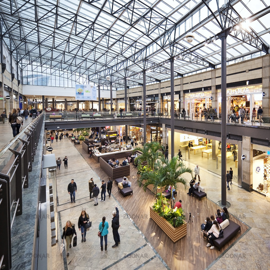 shopping centre CentrO, Oberhausen, Ruhr Area, North Rhine-Westphalia, Germany, Europe