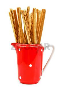 Bread sticks to milkman