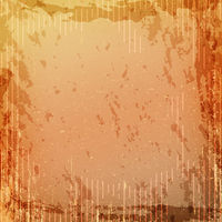 Grunge retro vintage paper texture, grungy old orange yellow background