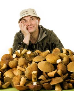habitual gatherer of mushrooms