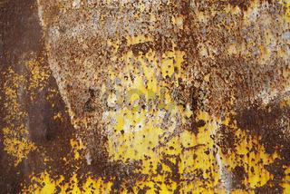 Rost, gelbe Farbe, Struktur, Hintergrund