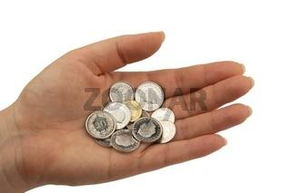 Schweizer Franken Münzen, Rappen