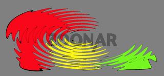 Koalition, Rot Gelb Grün Ampel