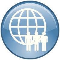 Soziale Netzwerke-Button