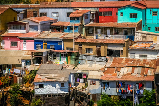 Rooftops of Valparaiso