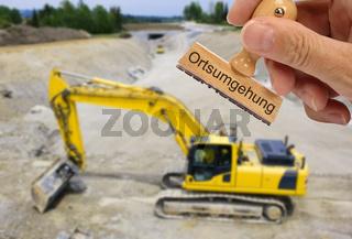 Straßenbau und Erdarbeiten